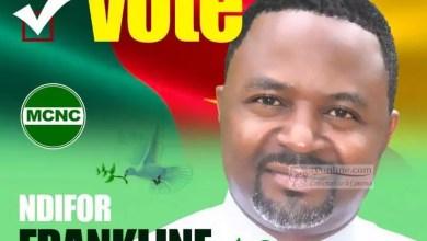 Franklin Anfanwi Ndifor candidat 2018