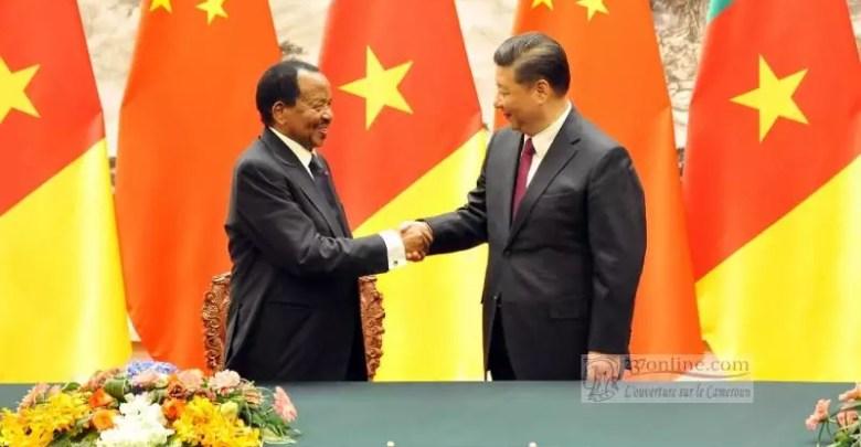 Le President Paul BIYA en Chine