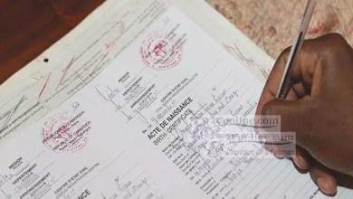 Photo of Cameroun: 64.000 actes de naissance à reconstituer dans la Région de l'Ouest