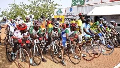 Depart cyclistes