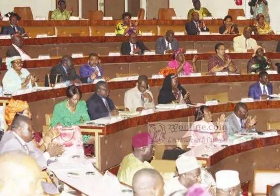 Deputés à l'assemblée nationale