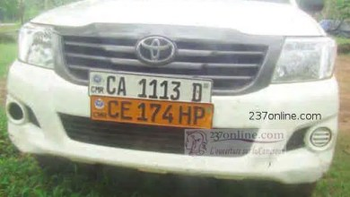 Photo of Cameroon: Vehicle With Two Number Plates Impounded