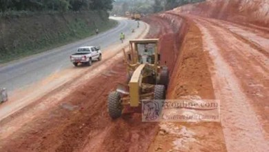 Photo of Babadjou- Bamenda Road: Visible Field Work Expected in February