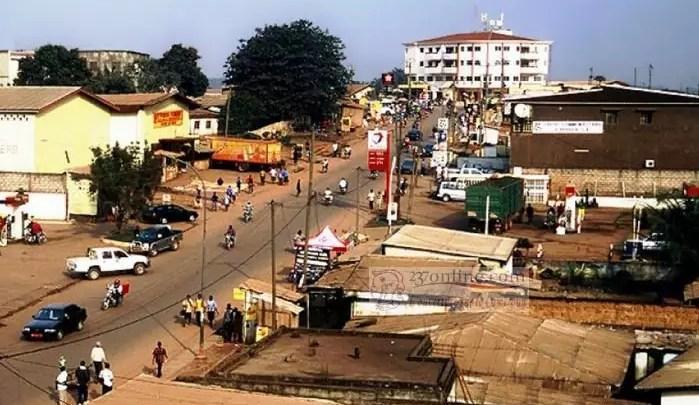 La ville de Bertoua
