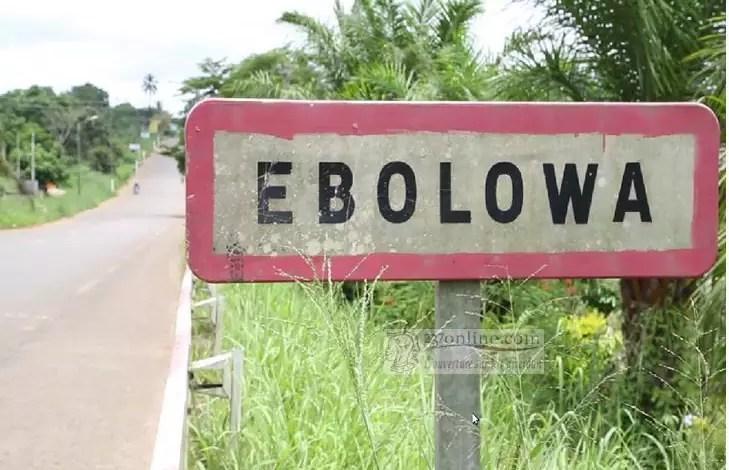 Entrée de la ville d'Ebolowa