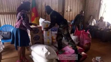 Photo de Crise anglophone : L'armée apporte une aide humanitaire aux déplacés internes