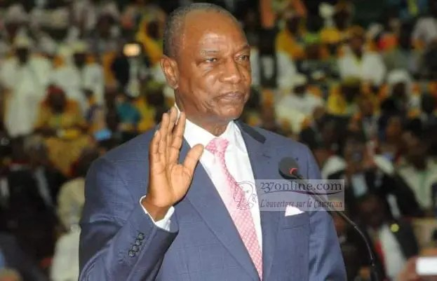 Alpha Condé Guinée