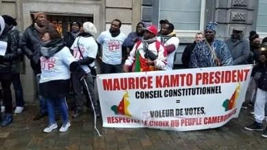 Photo of France: Gaz lacrymogène pour empêcher des manifestants anti-Biya de prendre d'assaut l'Ambassade du Cameroun à Paris