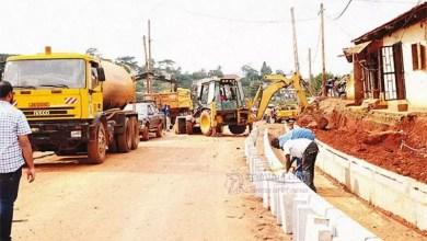 Photo de Chantier de la pénétrante Est de Douala : les travaux à l'arrêt depuis des mois