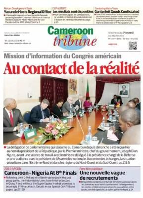 Cameroon Tribune du 03 juillet 2019
