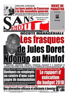 Sans Detour du 01 juillet 2019