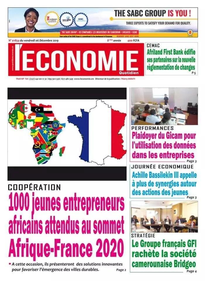 quotidien de l-economie du 6 dec 2019