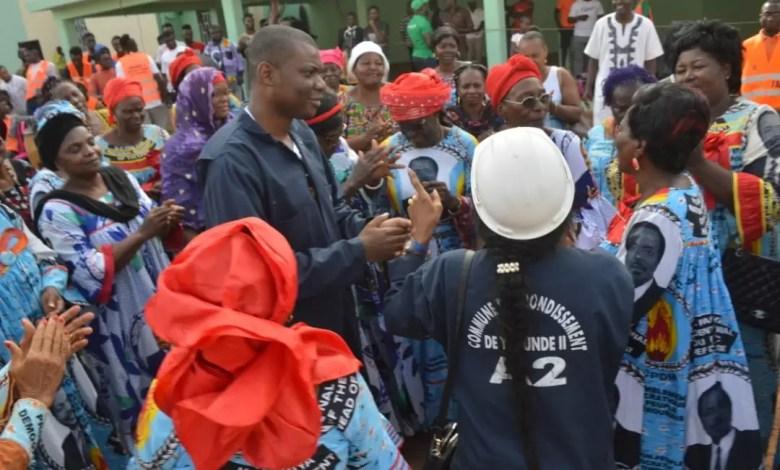 Yannick Martial Ayissi maire RDPC en tournée
