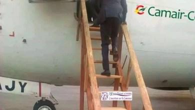 Photo of Stop au Sabotage : les avions de la camair-co n'utilisent pas d'escaliers en bois