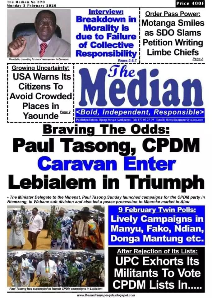 The Median du 03 fevrier 2020