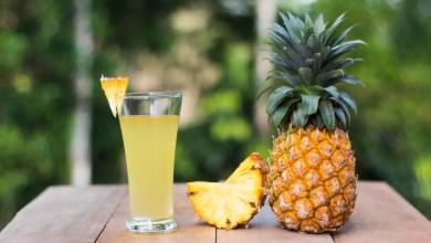 eau chaude d'ananas