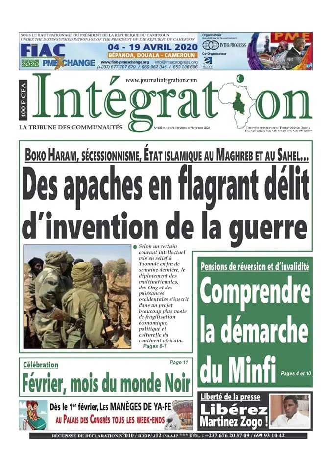 integration du 03 fevrier 2020