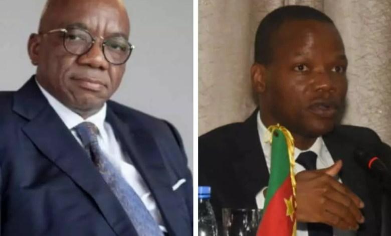 Célestin TAWAMBA et Mopa