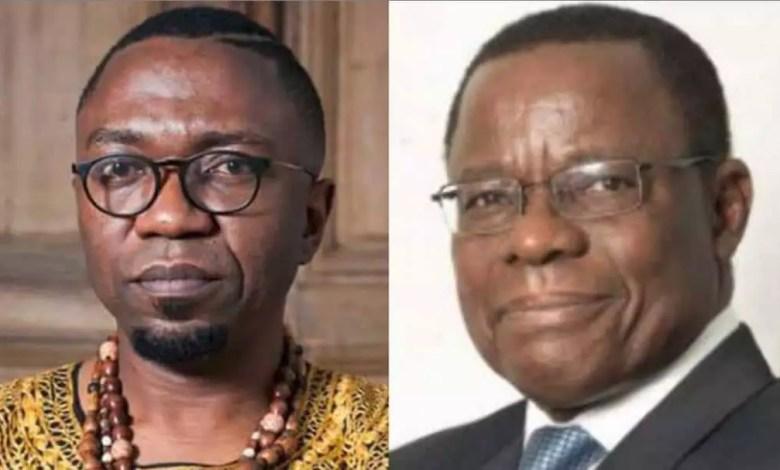 Patrice Nganang et maurice Kamto