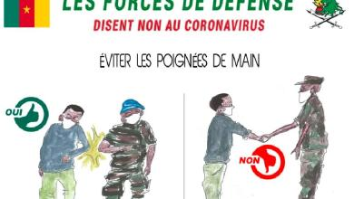 Photo of Cameroun: Les forces de défenses disent non au Covid-19