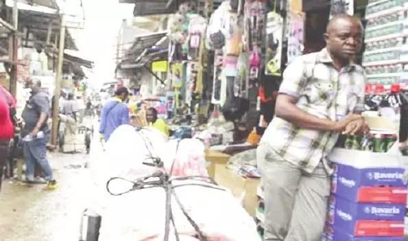Marché centrale de Douala