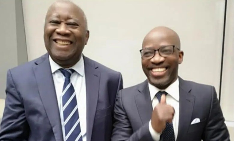 Laurent GBAGBO et Charles Blé GOUDE