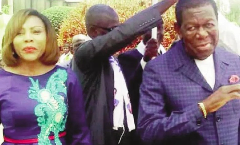 Laure Njitap et sn papa Victor Fotso