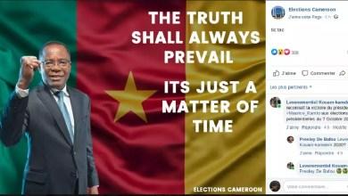 Photo of Cameroun : Elecam reconnaît la victoire de Maurice KAMTO à la présidentielle 2018 [ Infox ]