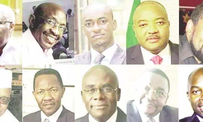Les membres de l'opposition camerounaise