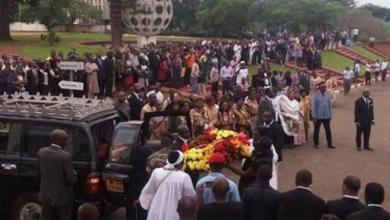 Veillée funèbre a Yaoundé