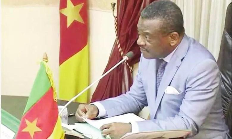 Le premier ministre Joseph Dion Ngute