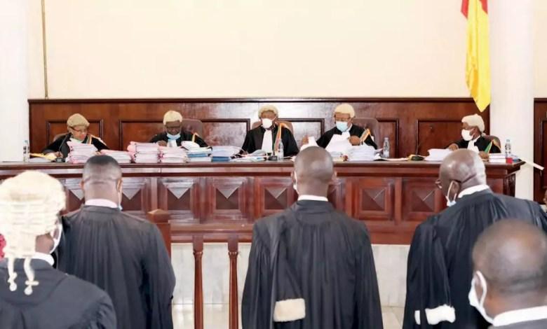 Chambre administrative de la cour supreme