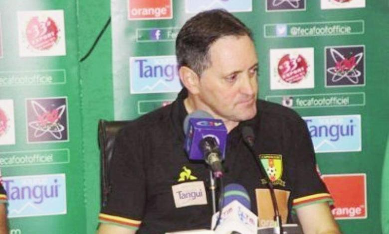 Toni Conceiçao entraineur des lions indomptables du Cameroun