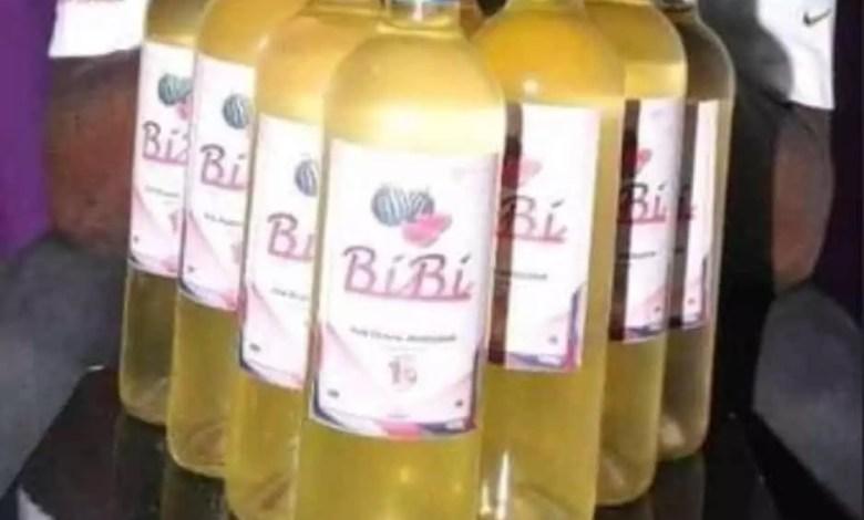 BIBI vin de pasteque made in Cameroun