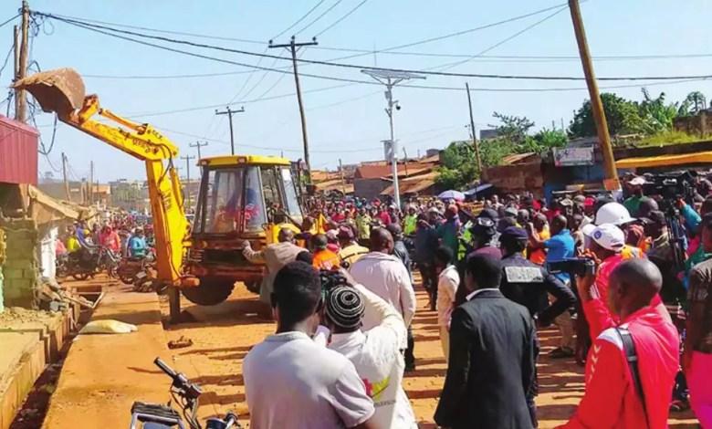 Demolition des constructions anarchiques