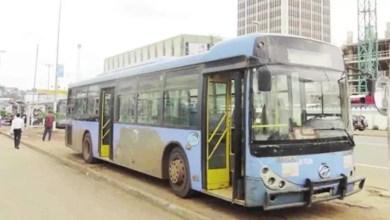Un bus de transport urbain