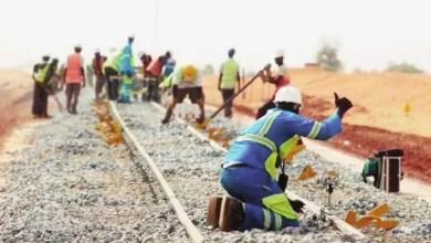 Un chemin de fer modernisé par Camrail