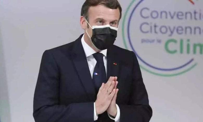 Emmanuel Macron malade