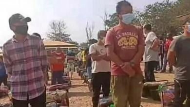des réfugiés chinois