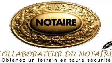 Logo d'un notaire