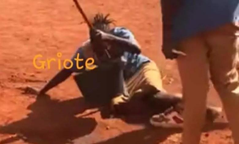Scene de violence en milieu scolaire