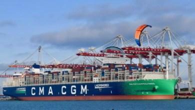 CMA-CGM du port