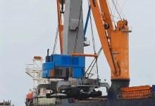 Nouvelle grue au port de Kribi