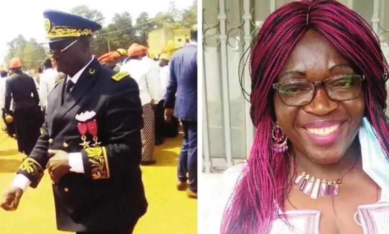 Ernest Ewango et Eveline Nana