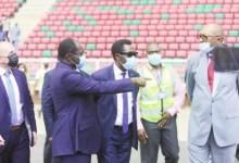 Mouelle Kombi et délégation CAF