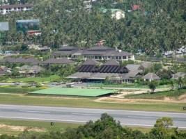 Koh Samui Airport von oben