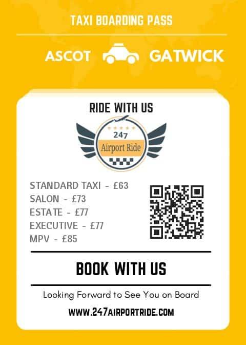 ascot to gatwick price