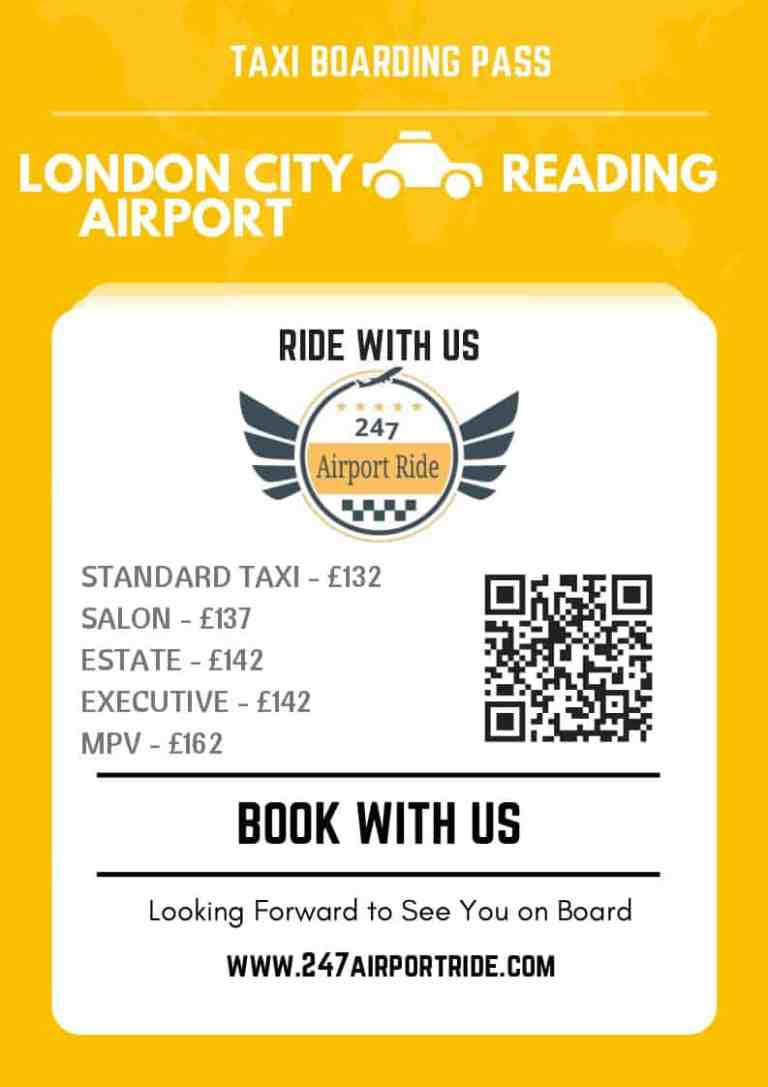 london city airport to reading