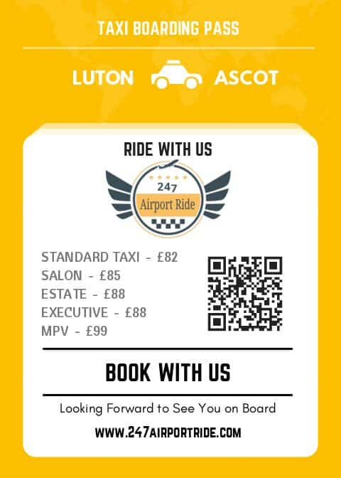 luton to ascot price