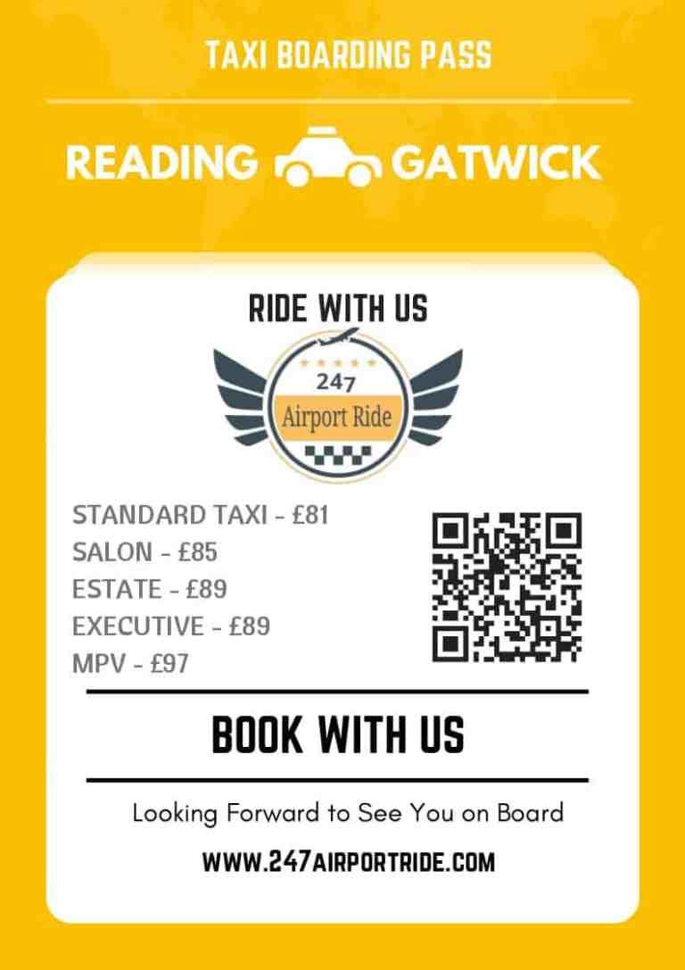 reading to gatwick price